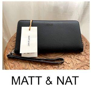 Matt & Nat black wallet NWT